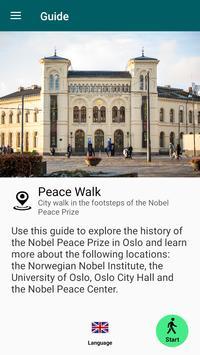 Peace Walk poster