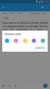 Блокнот экране блокировки - Заметки с напоминанием скриншот 7