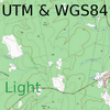 Field Topography UTM free icon