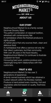 Neighbourhood Market Co screenshot 2