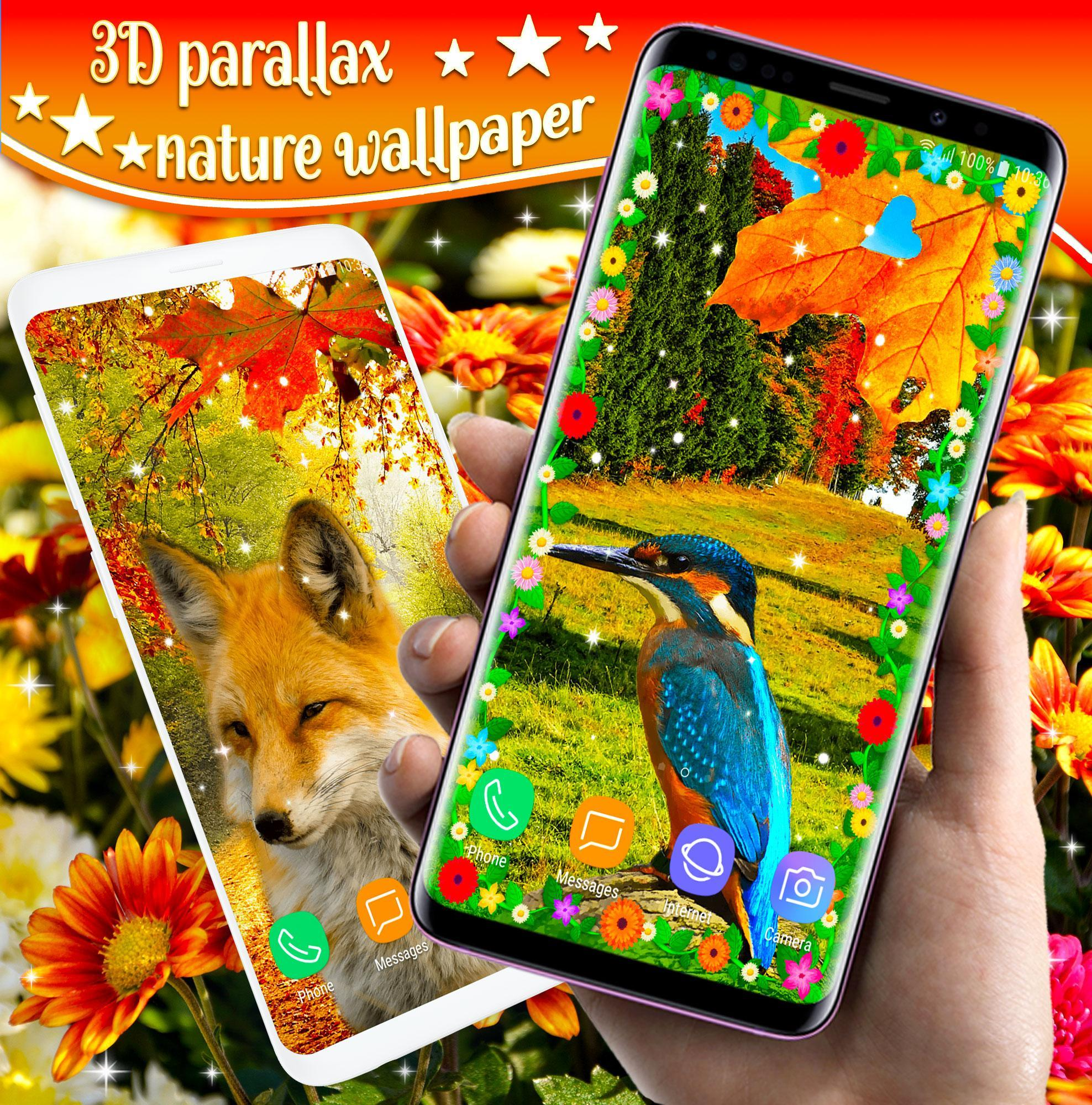 Nature Animals Parallax 3d Live Wallpaper Hd For Android
