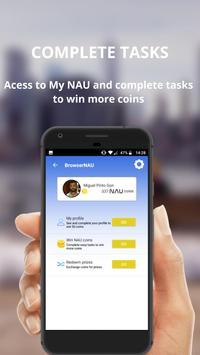 Browser NAU screenshot 2