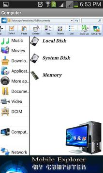 My Computer Mobile Explorer screenshot 1