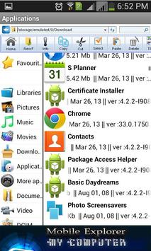 My Computer Mobile Explorer screenshot 2