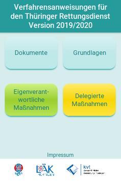 VFA Rettungsdienst Thüringen poster
