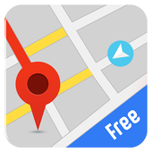 Free GPS Navigation: Offline Maps and Directions icon