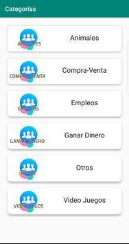 Grupos en FB screenshot 1