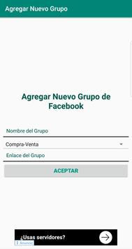 Grupos en FB screenshot 2