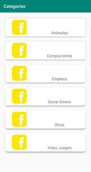 Grupos en FB screenshot 3