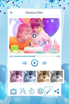 Birthday Video Maker With Song screenshot 5
