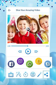 Birthday Video Maker With Song screenshot 6