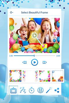 Birthday Video Maker With Song screenshot 1