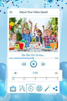 Birthday Video Maker With Song screenshot 3