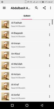 Abdulbasit Abdulsamad Complete Quran screenshot 5