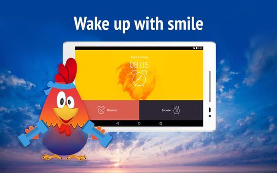 Rooster alarm clock screenshot 9