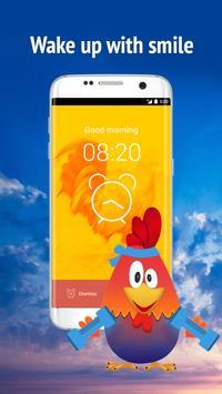 Rooster alarm clock screenshot 1