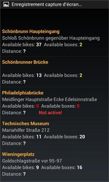 Bike Stations Vienna City screenshot 3