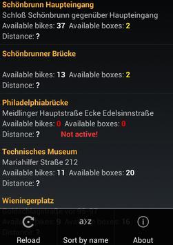 Bike Stations Vienna City screenshot 5