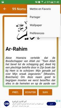 99 Namen Van Allah poster