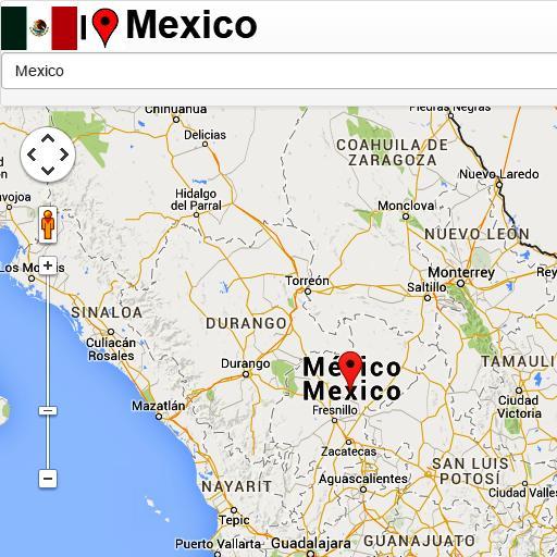 Mexico City map für Android - APK herunterladen