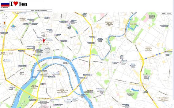 Moscow map screenshot 2