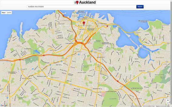 Auckland Map screenshot 2