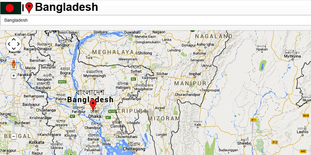 Bangladesh Mymensingh Map For Android Apk Download
