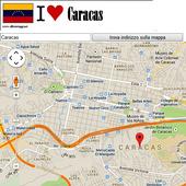 Caracas map icon