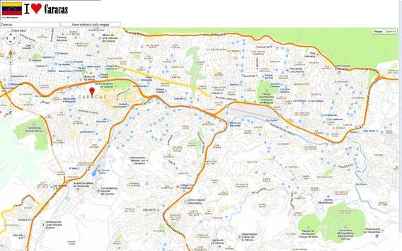 Caracas map screenshot 1