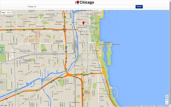 Chicago Map screenshot 2
