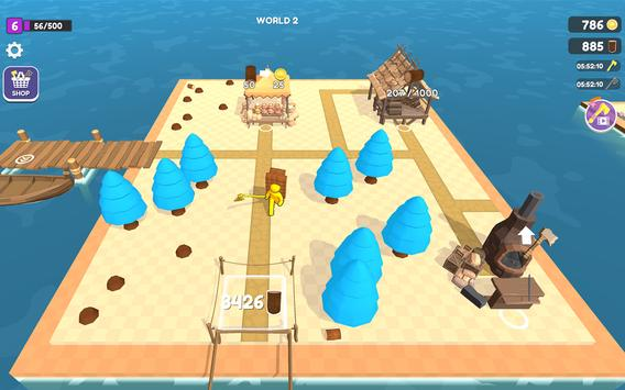 Craft Island تصوير الشاشة 22