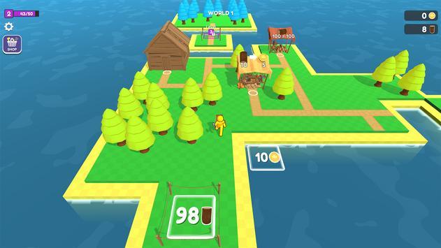 Craft Island تصوير الشاشة 5