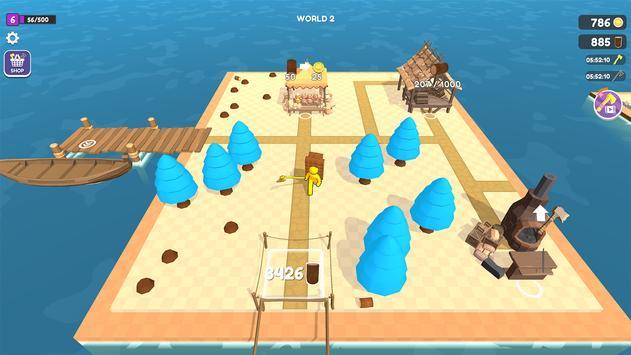 Craft Island تصوير الشاشة 6