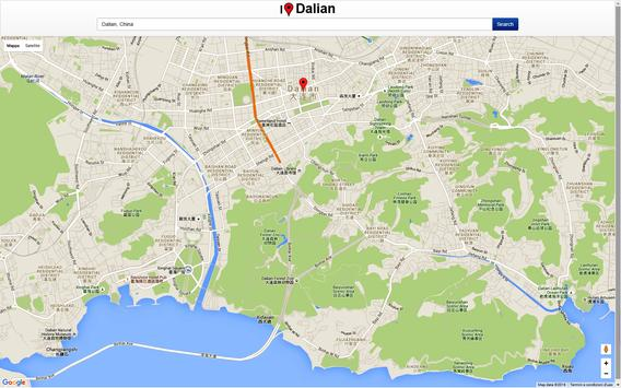 Dalian Map screenshot 2