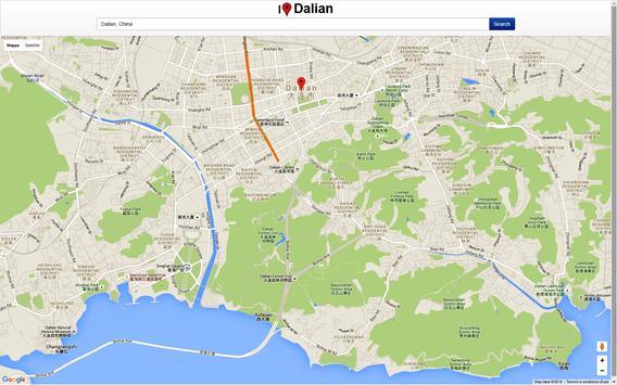 Dalian Map screenshot 3