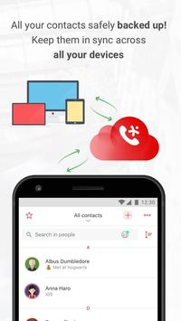 InTouch Contacts: CallerID, Transfer, Backup, Sync 스크린샷 6