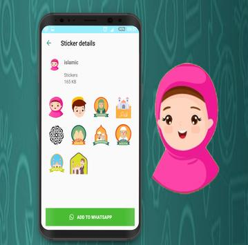 Islamic Stickers  - WhatStickers 2019 screenshot 1