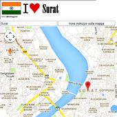 Surat map icon