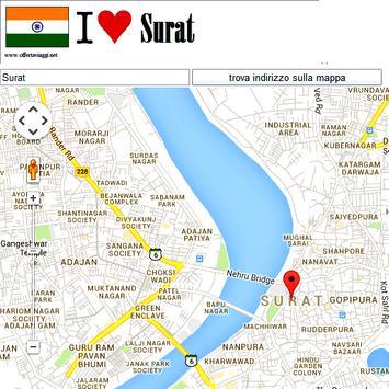 Surat map screenshot 1