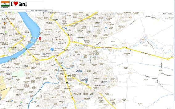 Surat map screenshot 2