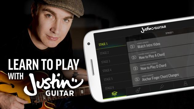 Justin Guitar الملصق