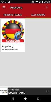 Radiosender Augsburg  - Deutschland ảnh chụp màn hình 3
