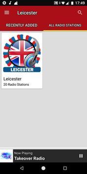 Leicester Radio Stations - UK screenshot 3