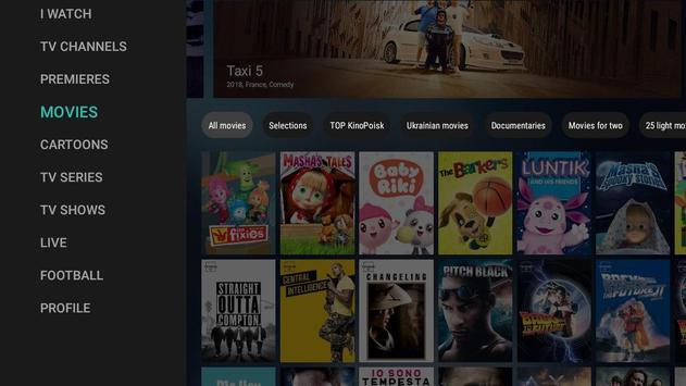 MEGOGO for Android TV screenshot 8