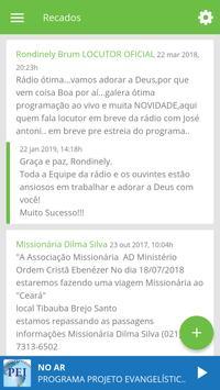 Rádio Projeto Evangelístico screenshot 4