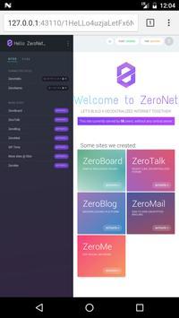 7 Schermata ZeroNet