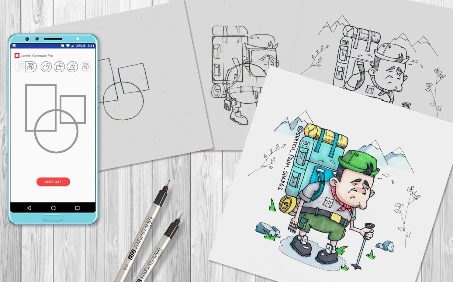 drawing ideas generator - HD1490×930