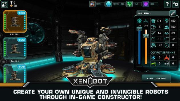Xenobot. Battle robots. screenshot 3