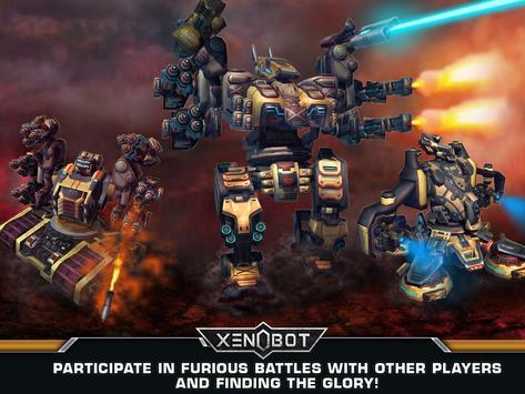 Xenobot. Battle robots. screenshot 10