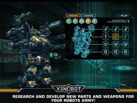 Xenobot. Battle robots. screenshot 11